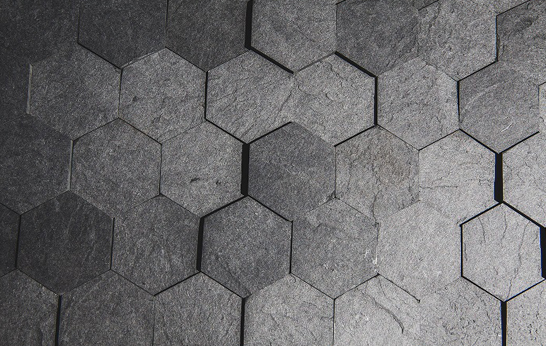 Richlite Countertop 3rings | Slate-ish: Paper-based Composite Tiles