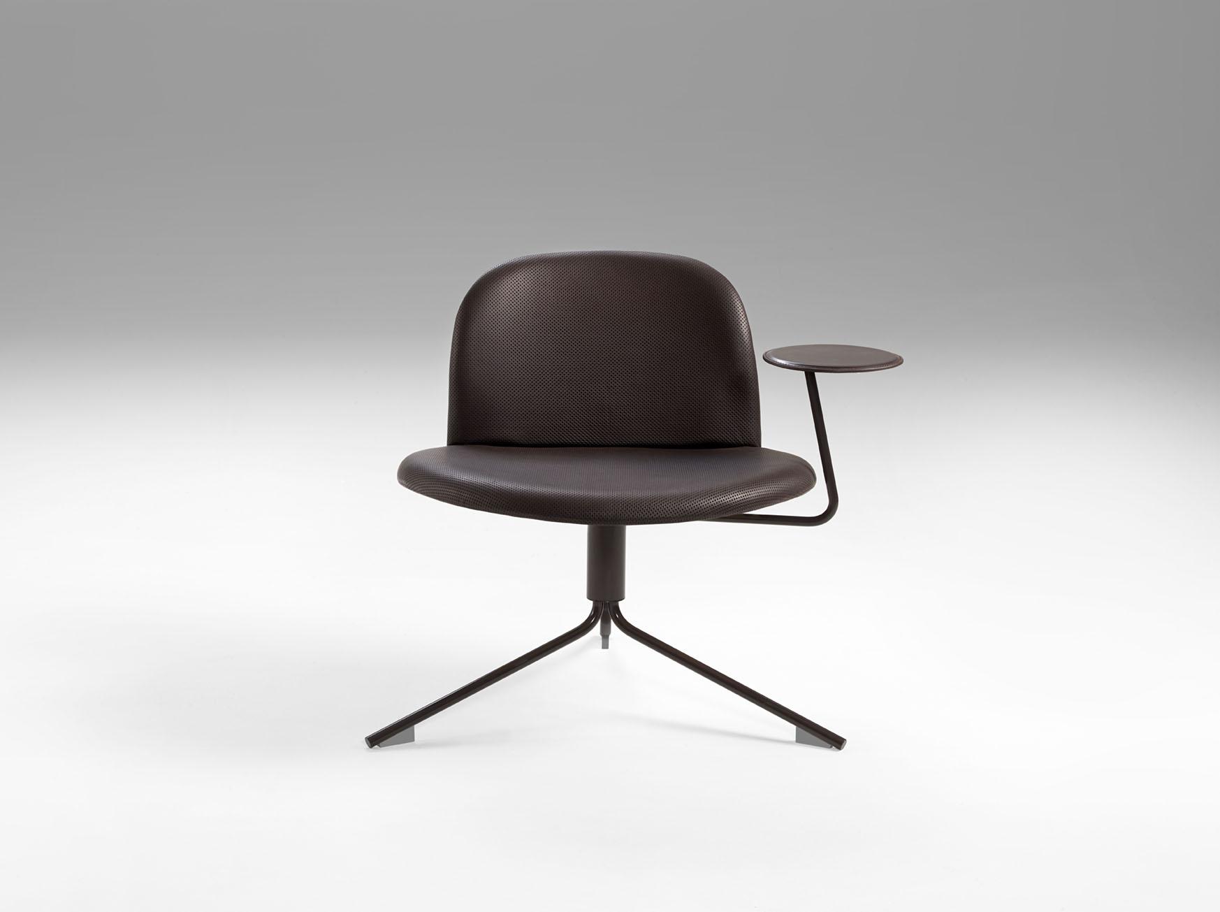 revolving easy chair herman miller mirra 3rings red dot winner satellite by richard hutten for