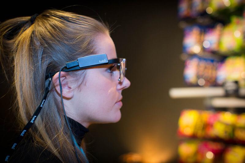 Retail undersökning med Tobii Glasses 2 i vekliga miljöer