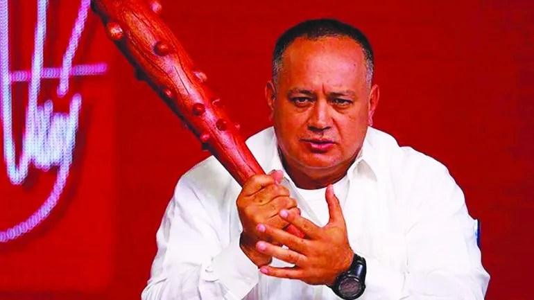 Diosdado Cabello arremete contra la oposición desde su programa televisivo Con el mazo dando