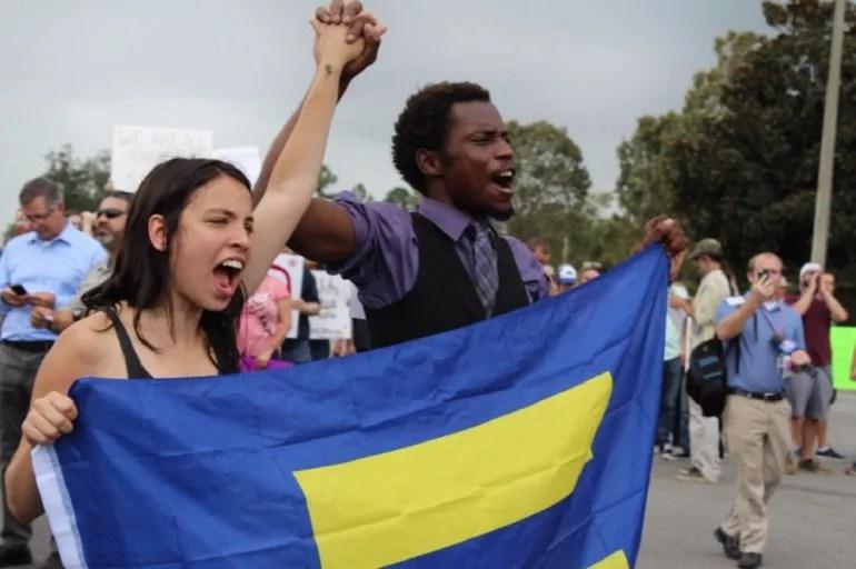 Estudiantes de la Universidad de Florida