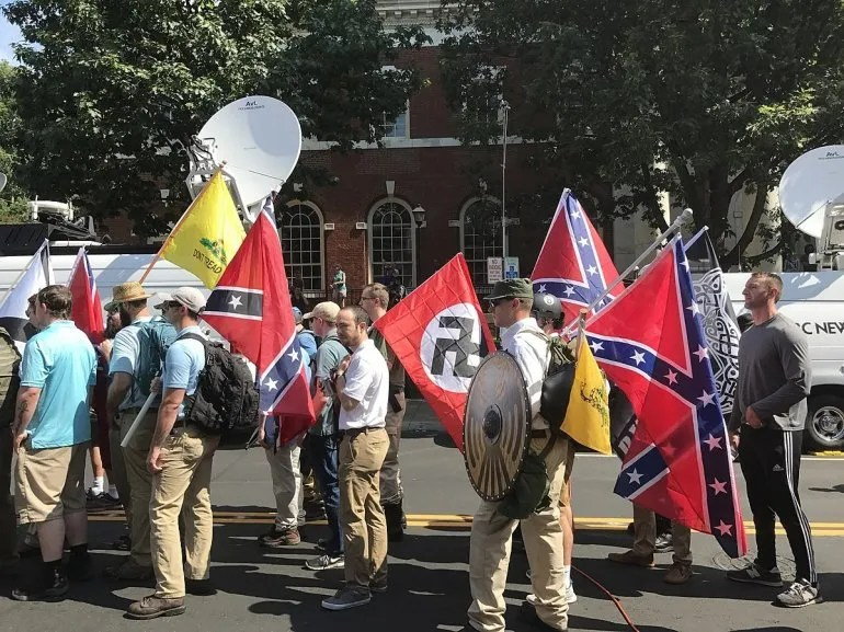 Reunión de neonazis en Charlottsville