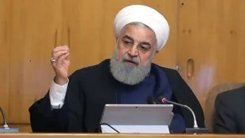 El presidente de Irán, Hasán Rohani,.