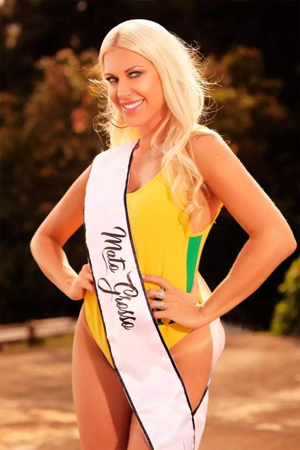 <p>Antonela Avellaneda, de 35 años. Es la única modelo <a href=