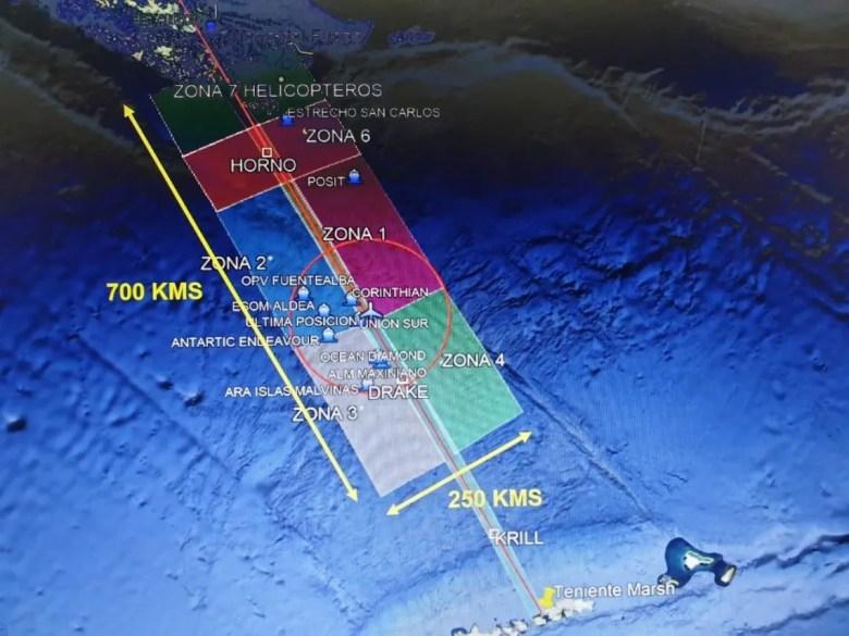 Chile: encontraron restos de avión cerca de donde desapareció el Hércules