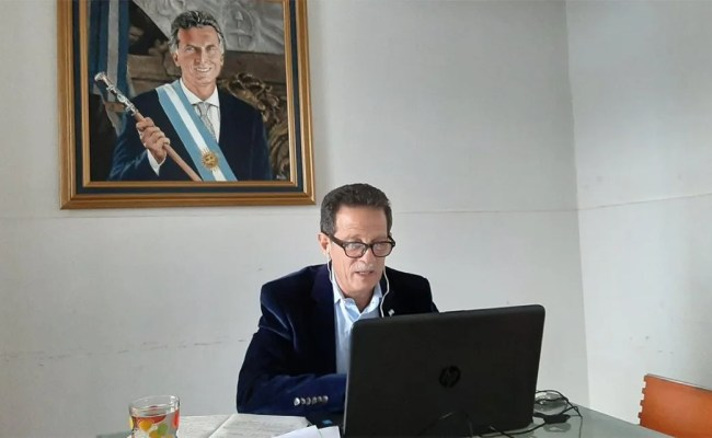 Julio Sahad Diputado Nacional Por La Rioja Dio Positivo