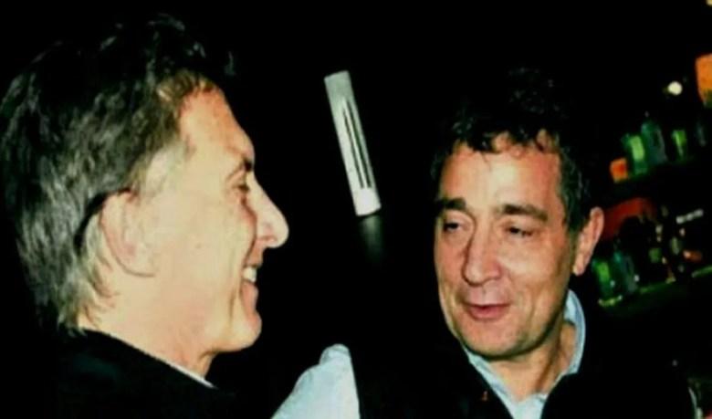 Mauricio Macri y Fabián Rodríguez Simón.