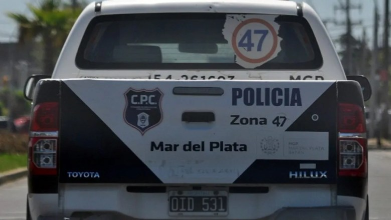 Mar del Plata: persecución policial.