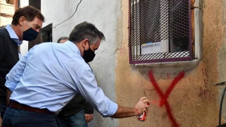Zavaleta: operativo anti droga en la Ciudad.
