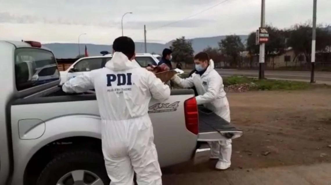 Chile: la Policía detuvo al agresor.