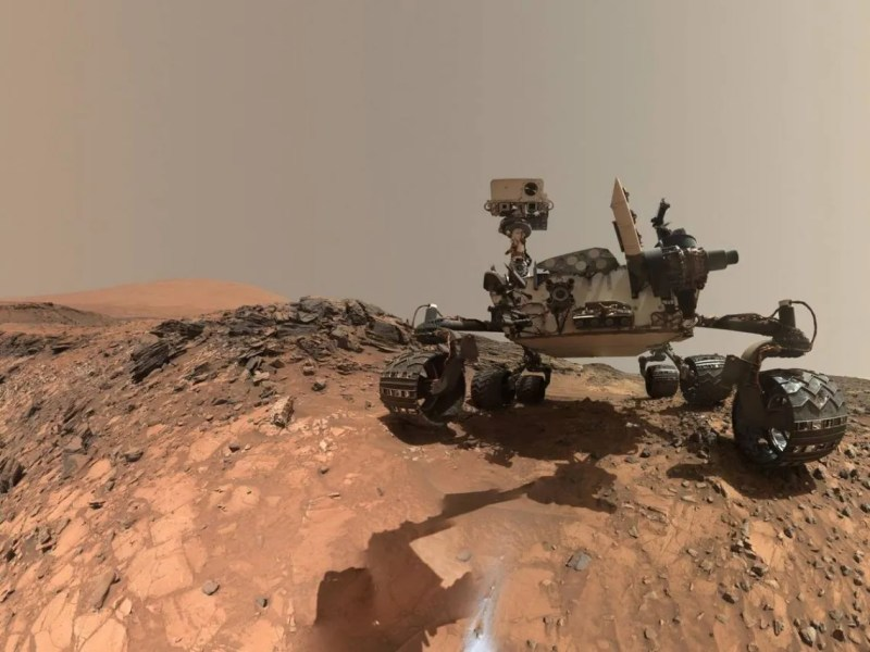 La atmósfera de Marte está compuesta en un 96% de dióxido de carbono