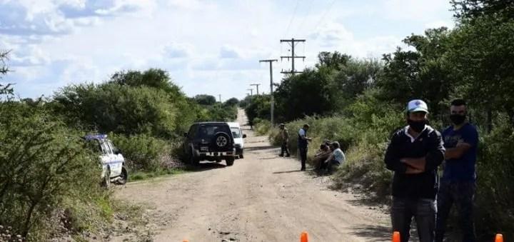 San Luis: encontraron un cuerpo y la familia de Ochoa asegura que es él.