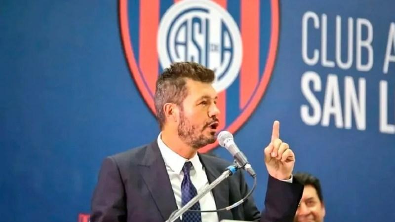 Marcelo Tinelli anunció su licencia como presidente de San Lorenzo por redes sociales