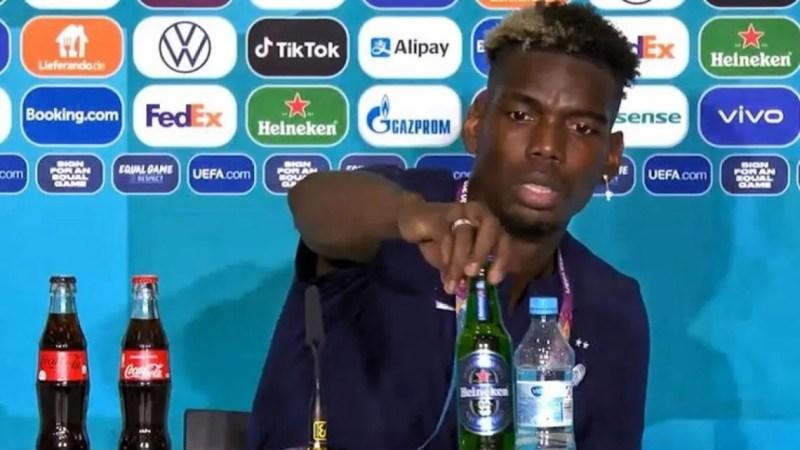 La UEFA se enojó por los gestos de Ronaldo y Pogba