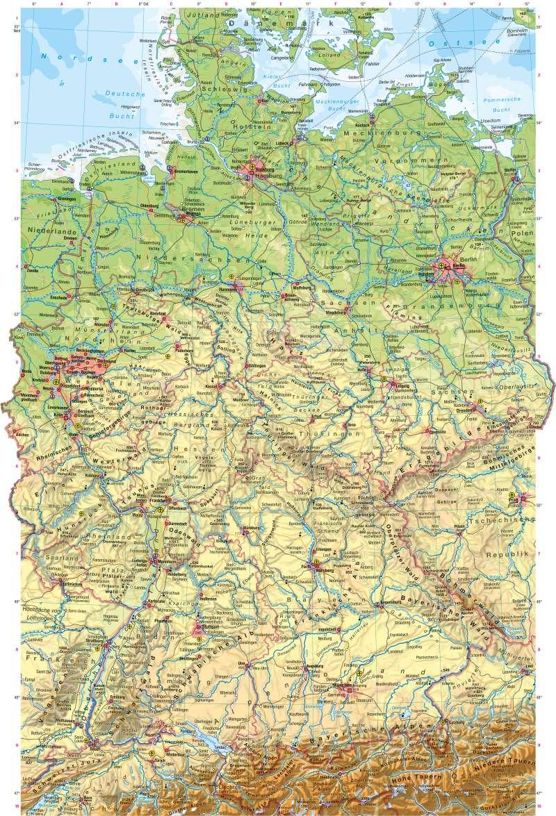Deutschland Karte Mastab My Blog