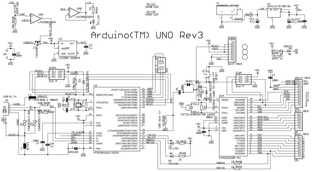 medium resolution of arduino uno r3 schematic