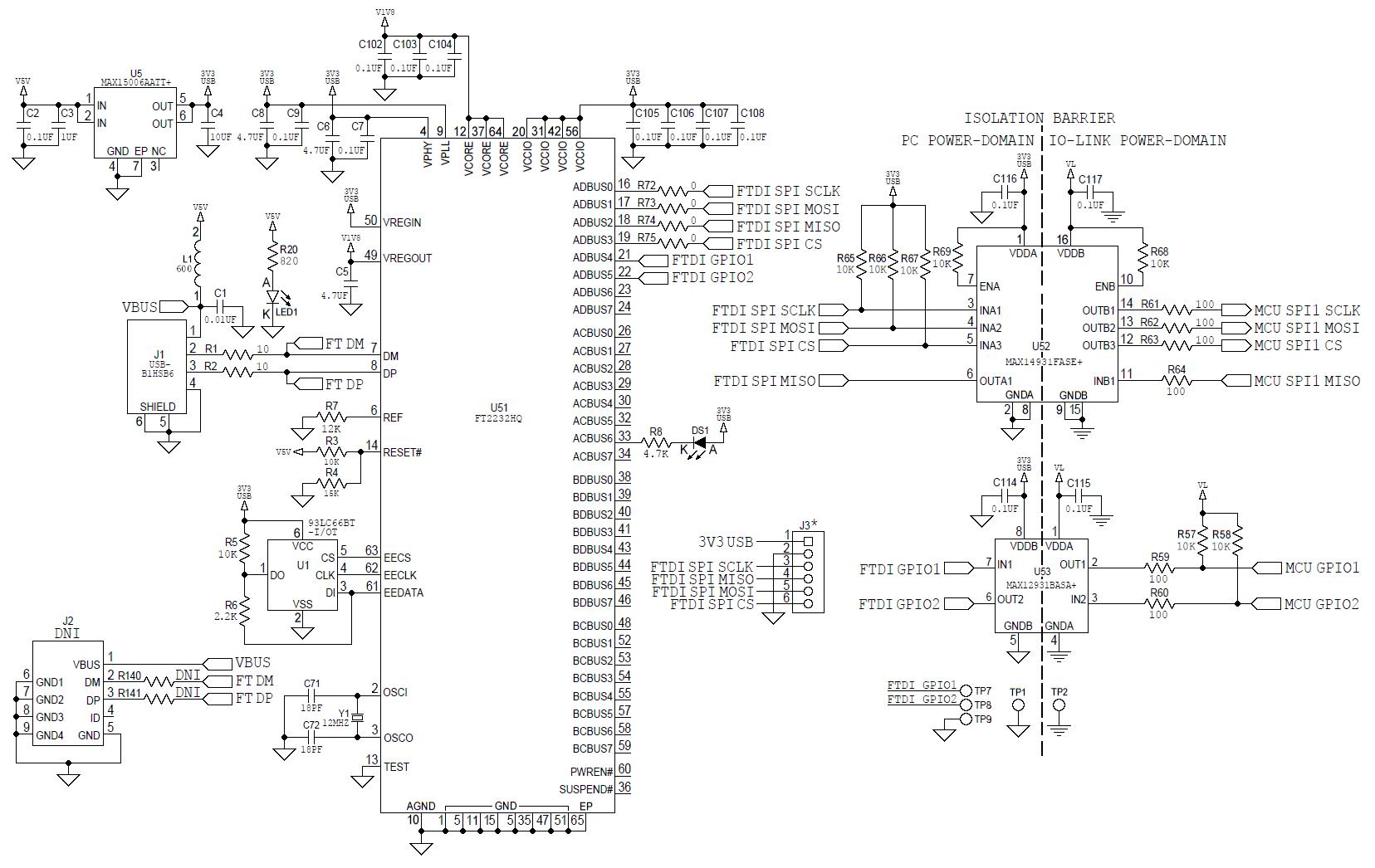 Maxrefdes145 8 Channel Io Link Master
