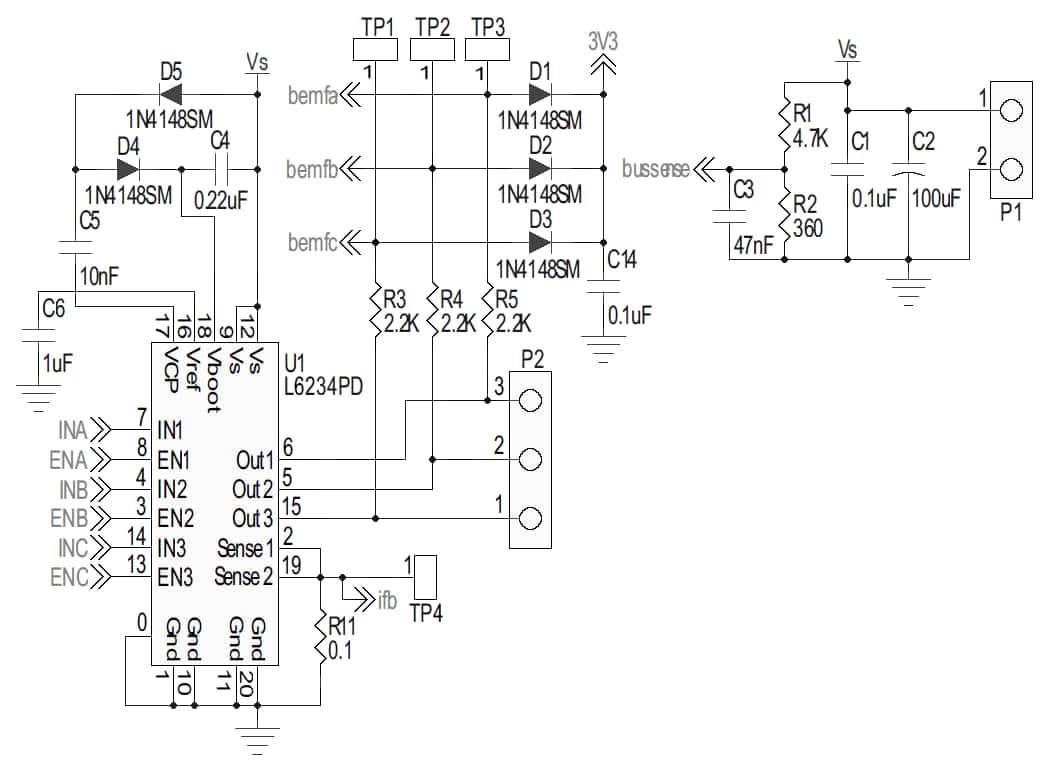 assembled board from schematic 1 schematic 1