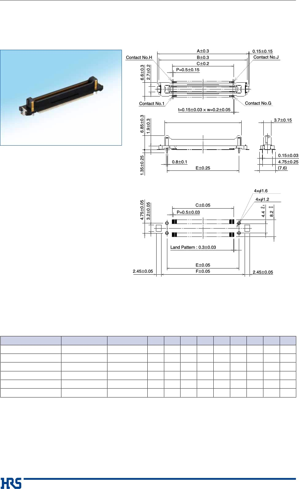 medium resolution of fx23 fx23l series high speed transmission 0 5mm pitch board to board connection floating connectors