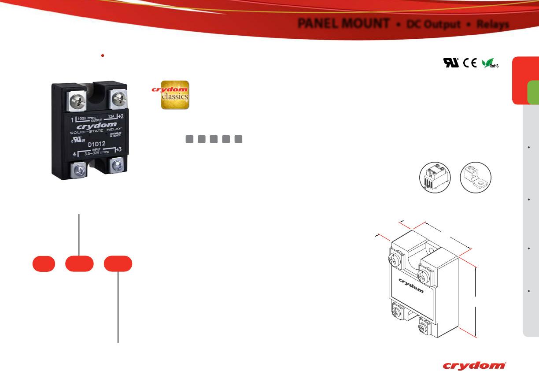 solid state relay wiring diagram crydom 39 car stereo installation dpa series datasheet sensata digikey 29