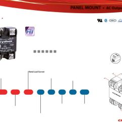 Solid State Relay Wiring Diagram Crydom 39 3 Way Diverter Valve Dpa Series Datasheet Sensata Digikey 11