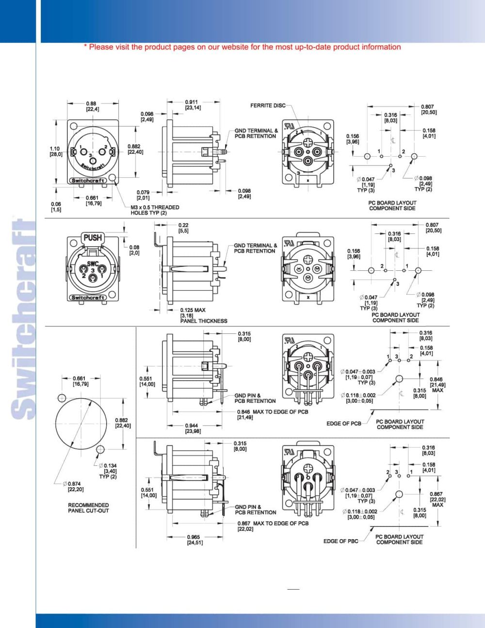 medium resolution of connectors receptacles