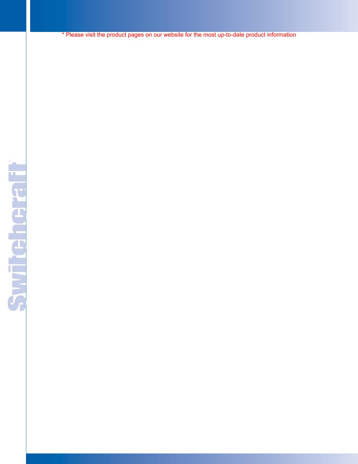 hight resolution of www switchcraft com registered trademark of switchcraft inc