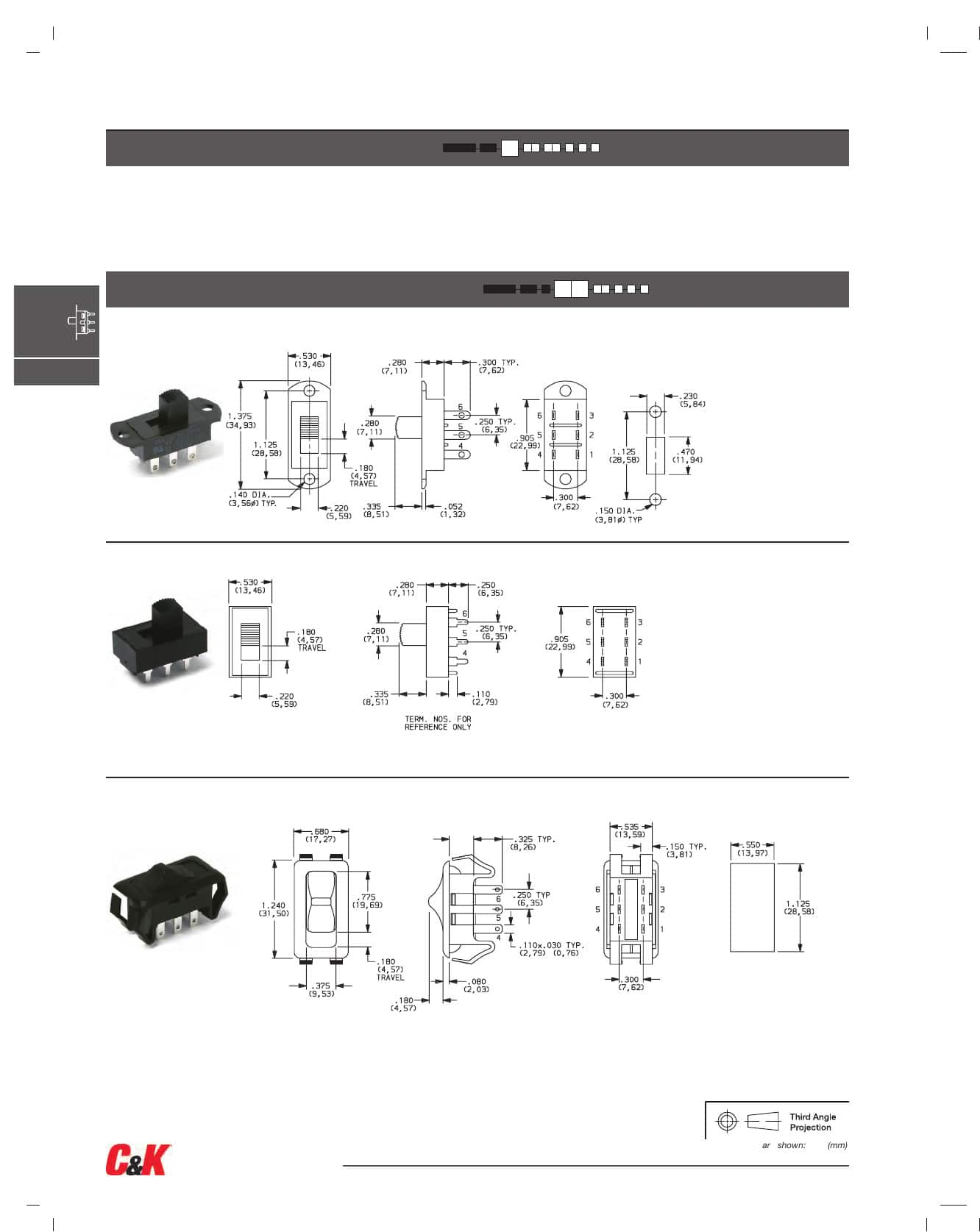 S Series Slide Datasheet