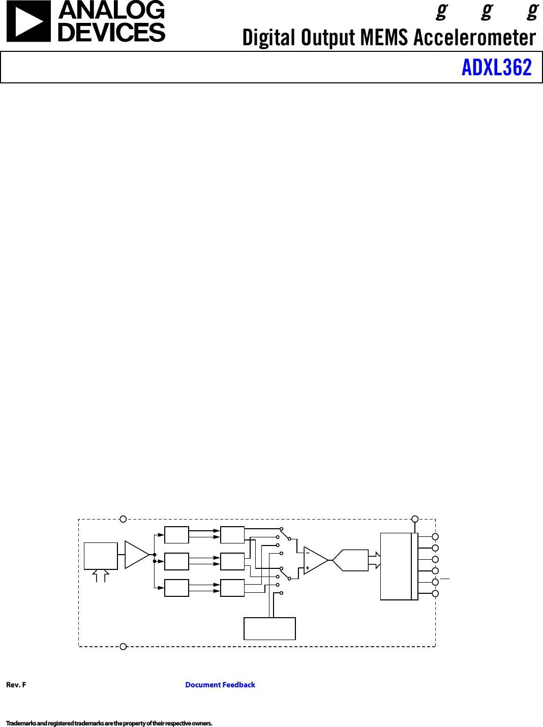 hight resolution of adxl362 datasheet