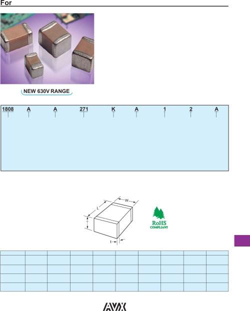 small resolution of high voltage mlc chips datasheet avx corporation digikey datasheet mlc grow light controller wiring diagram