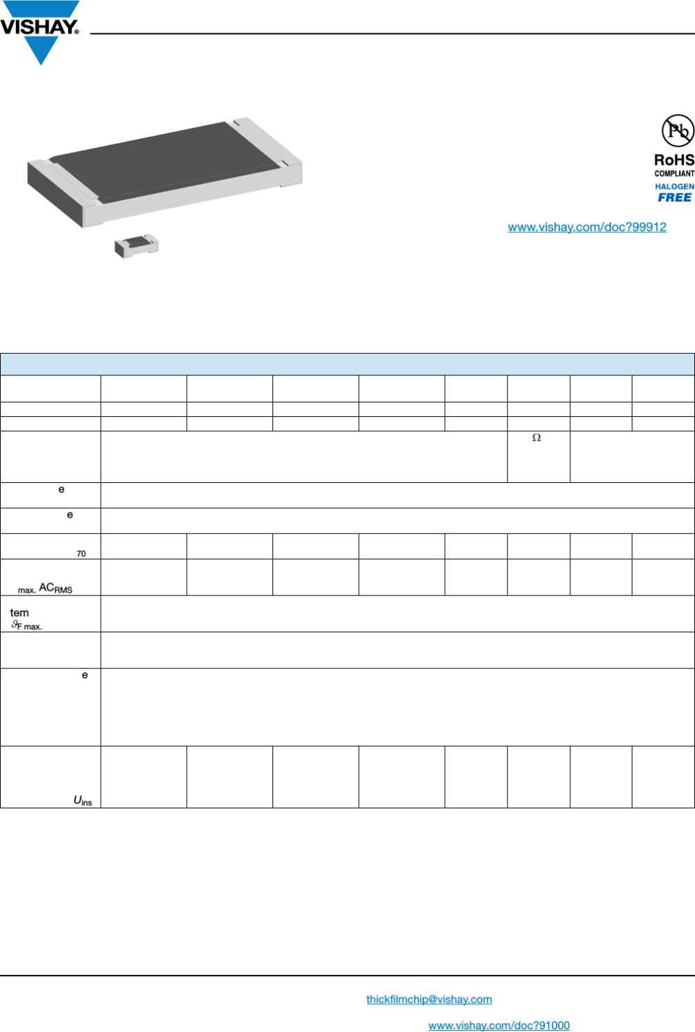 medium resolution of d crcw e3 series datasheet