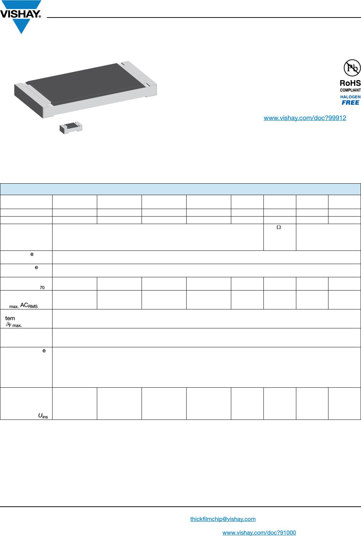 hight resolution of d crcw e3 series datasheet