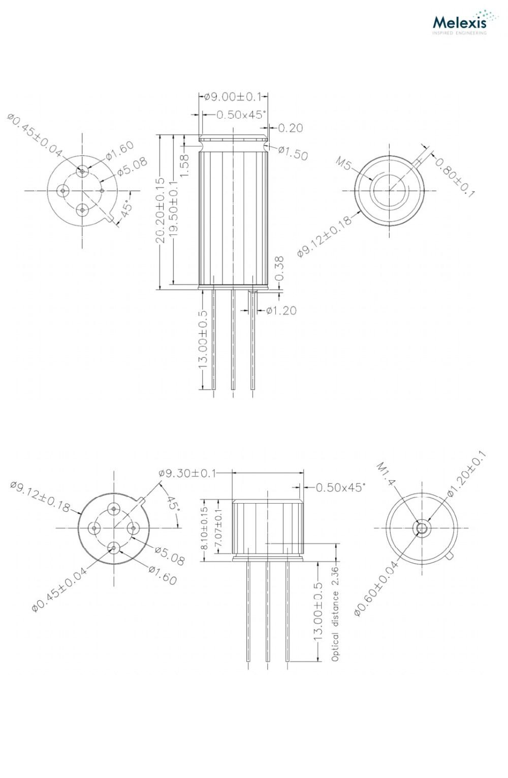 medium resolution of mlx90614 family