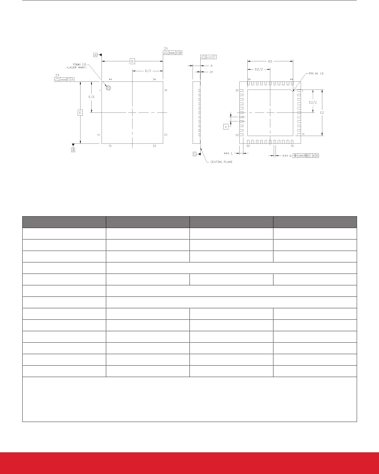 hight resolution of 10 2 si5340 7x7 mm 44 qfn package diagram
