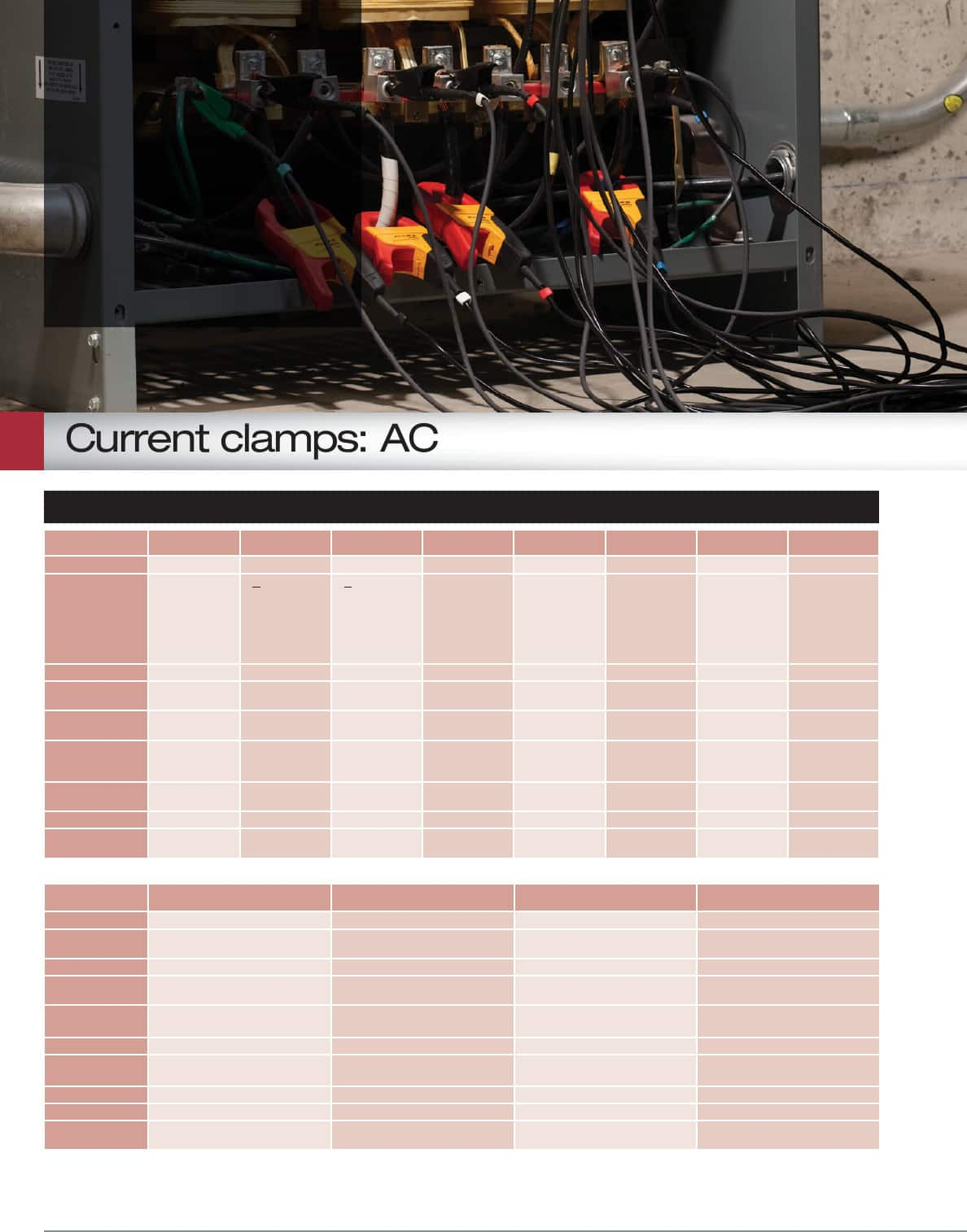 hight resolution of current clamps ac