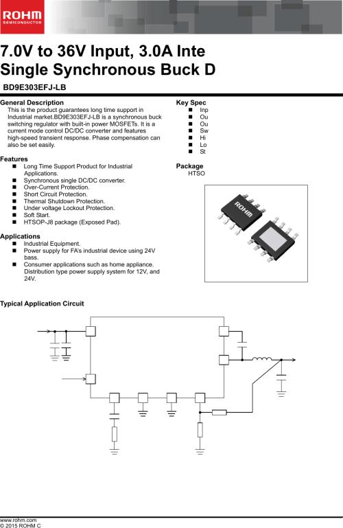 small resolution of bd9e303efj lb datasheet rohm semiconductor digikey hose furthermore condenser microphone diagram as well 24v relay coil
