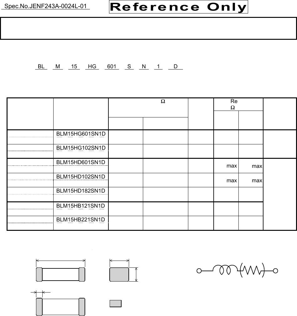 medium resolution of blm15h sn1 series datasheet