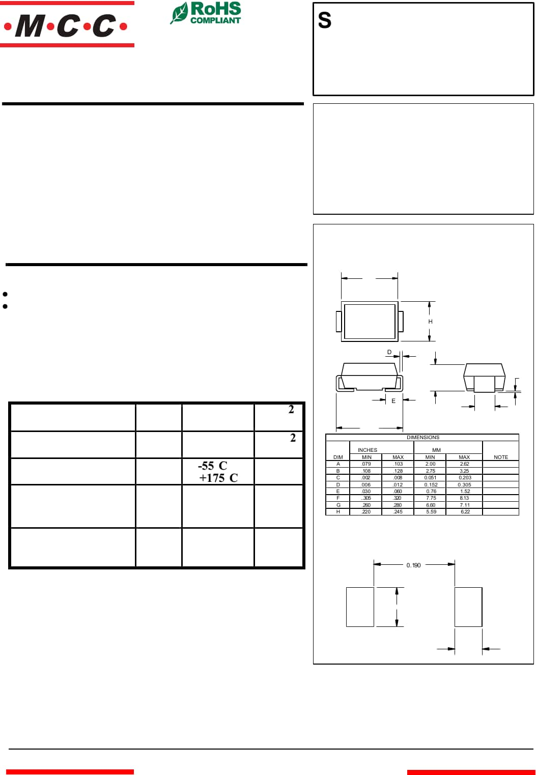hight resolution of datasheet
