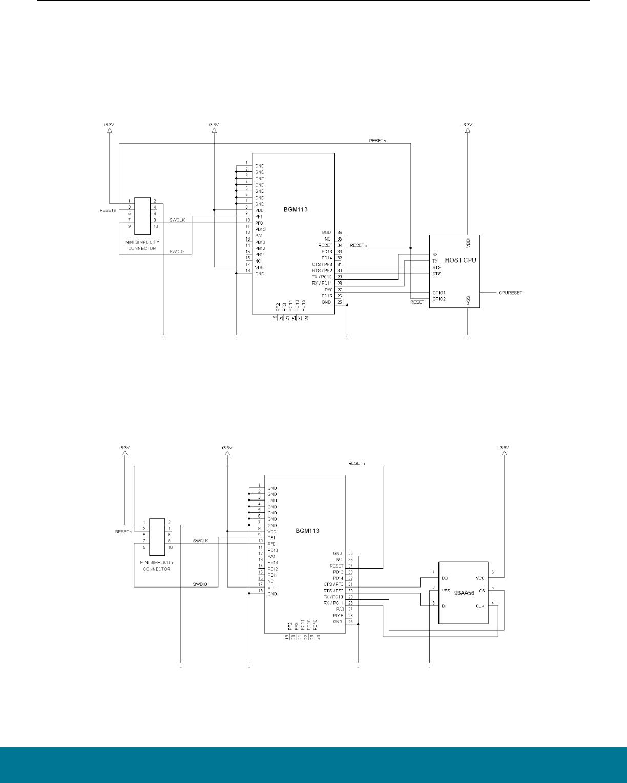 uart timing diagram fender n3 noiseless wiring bgm113 series datasheet silicon labs digikey