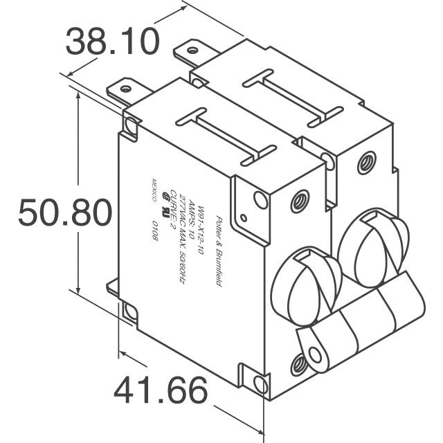 W68-X2Q12-15 TE Connectivity Potter & Brumfield Relays