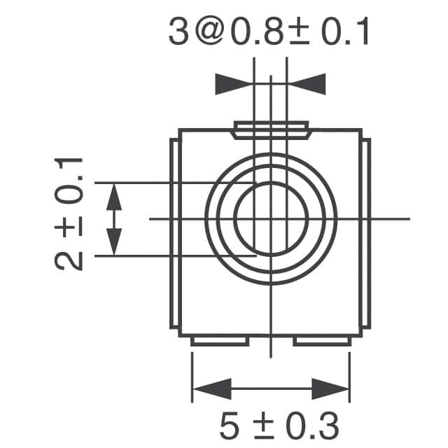 EVN-D8AA03B15 Panasonic Electronic Components