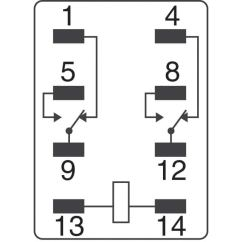 Omron My2n Relay Wiring Diagram 1982 Ez Go Golf Cart My2 Dc48 (s) Automation And Safety | Relays Digikey