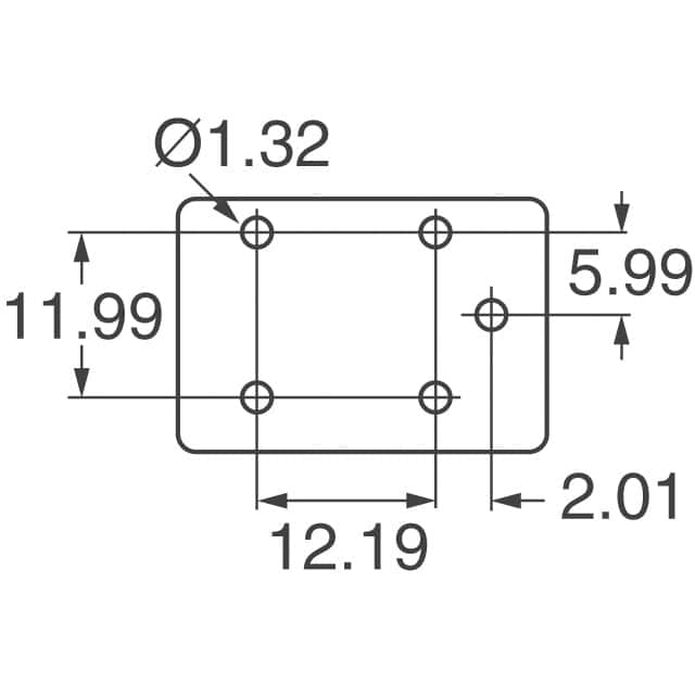 T7CV5D-12 TE Connectivity Potter & Brumfield Relays