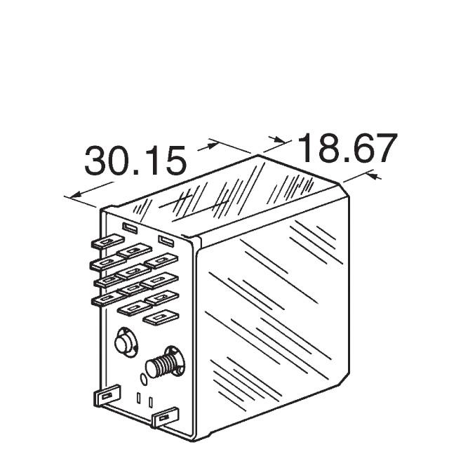 R10-E1X6-V430 TE Connectivity Potter & Brumfield Relays