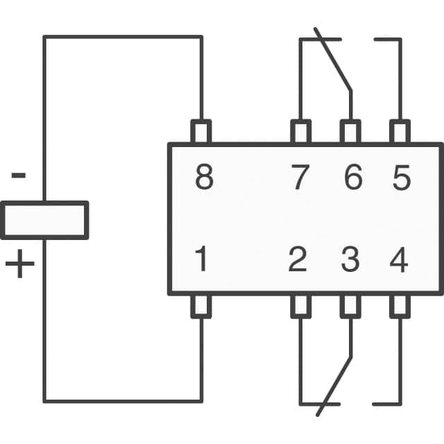 dpdt relay latching