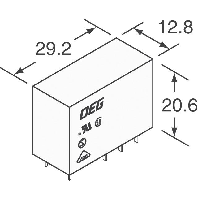 OMI-SH-212D,594 TE Connectivity Potter & Brumfield Relays
