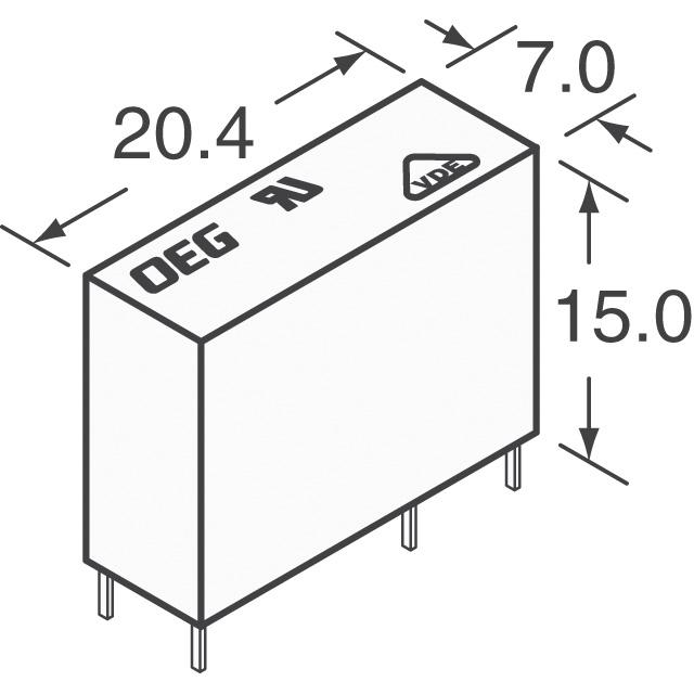 PCJ-112D3MH,301 TE Connectivity Potter & Brumfield Relays