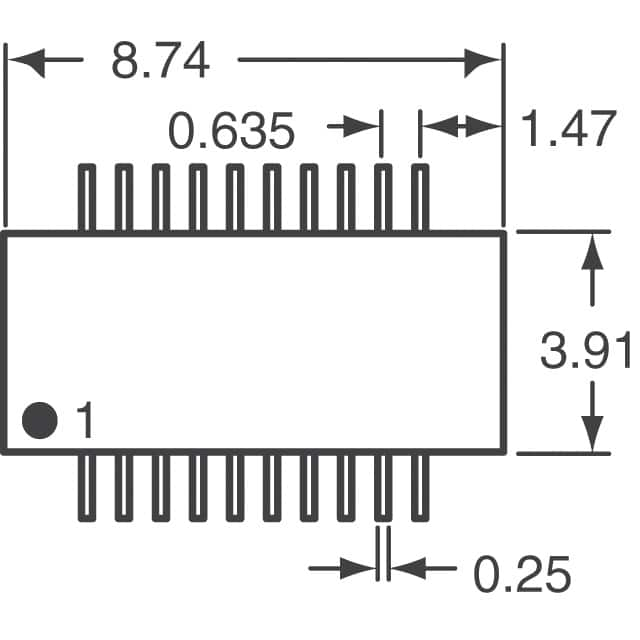 Digikey Resistor Array