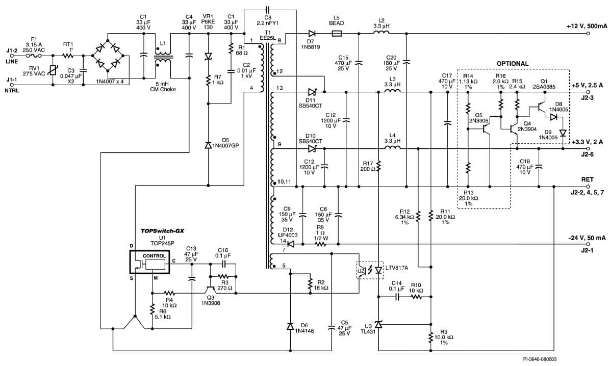 Diagram Powersupplycircuit Microswitchingpowersupplycircuit 24v 2a Smps Circuit Auto Electrical Wiring 12v Dc Power Supply