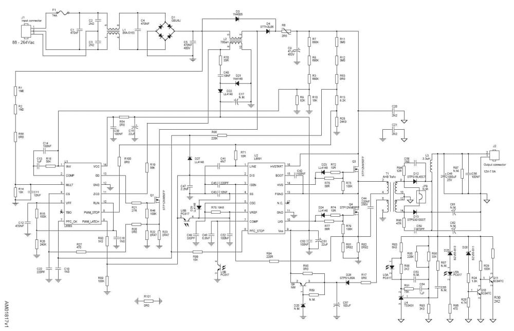 medium resolution of pfc wiring diagram wiring diagram ac dc nonisolated power supply with pfc gt 90w block diagrams